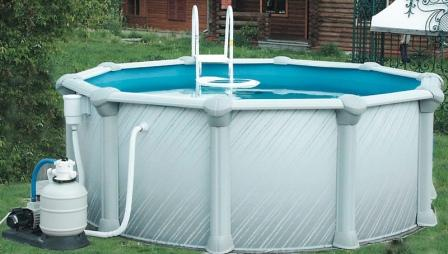 бассейн сборный каркасный