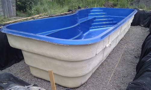 3D - цвет чаши композитного бассейна (B-5)