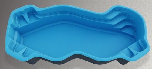Большой композитный бассейн