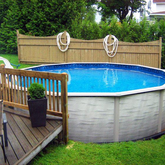 Уличный бассейн для дачи