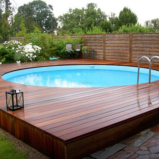 Вкапываемый бассейн для дачи