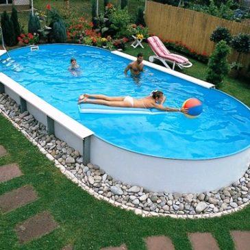 Стационарный морозоустойчивый бассейн для дачи