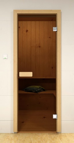 Двери для сауны альдо