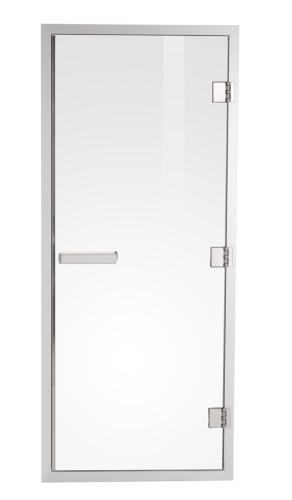 Стеклянная дверь для сауны harvia