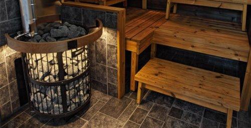 Электрическая печка для сауны