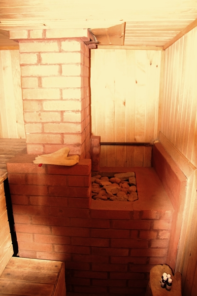Кирпичная печь для бани