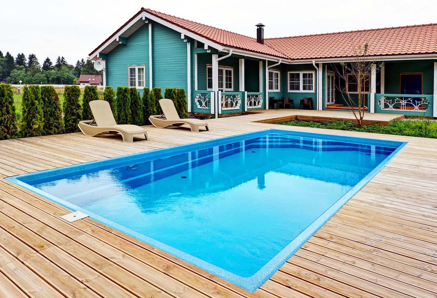 Купить композитный бассейн Compass Pools можно в Казани
