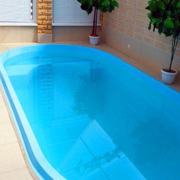 Композитный бассейн Premium построен в 2013 году