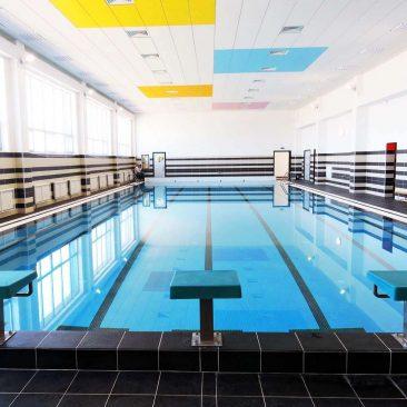 Общественный бассейн построен в школе Иннополиса