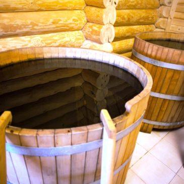 Правила купания в купели после бани