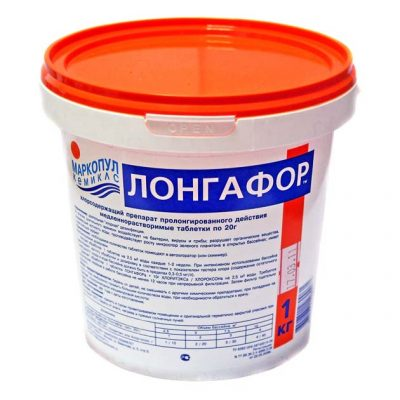 Лонгафор таблетированный препарат 20 г Маркопул-Кемиклс (1 кг)
