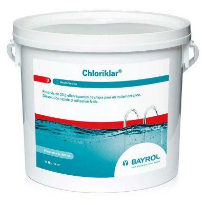 Хлориклар для бассейна (Chloriklar) Bayrol (1 кг, 5 кг, 25 кг)