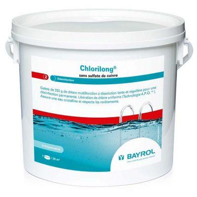 Хлорилонг 200 (Chlorilong) для бассейна Bayrol (1 кг, 5 кг, 25 кг)