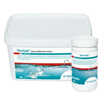 Хлор для бассейна в таблетках Варитаб (Varitab) Bayrol (1.2 кг, 5.4 кг)