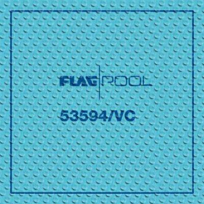 Пленка для бассейнов Flagpool Caribbean Green противоскользящая