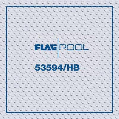 Пленка для бассейнов Flagpool White противоскользящая