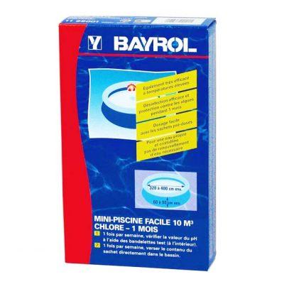 Комплект для дезинфекции воды в бассейне 10 м³ Bayrol Mini-Piscine Facile (0,63 кг)
