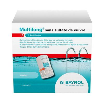 Мультилонг для бассейнов на основе хлора Bayrol (3.8 кг)