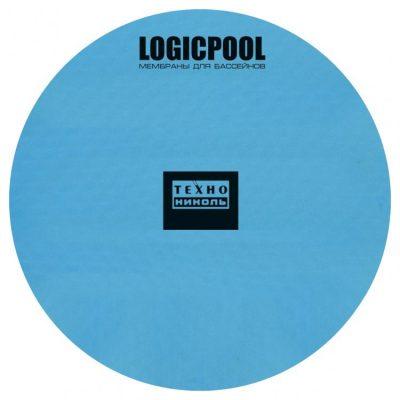Пленка для бассейна из ПВХ Logicpool V-RP Blue