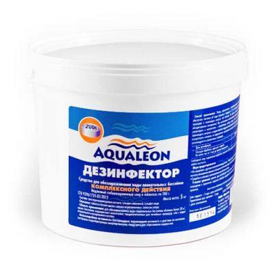 Дезинфектор МСХ КД (комплексного действия) в таблетках 200 г Aqualeon (1 кг, 3 кг, 5 кг)