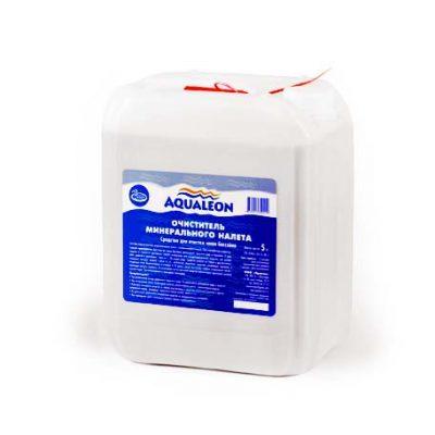 Очиститель минерального налета для чаши бассейна Aqualeon (5 л)
